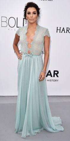 The Best of the 2015 Cannes Film Festival Red Carpet - Eva Longoria from #InStyle Eva Longoria in Georges Hobeika Couture.
