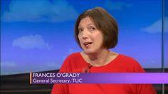 Frances O'Grady debates the trade union bill, e-voting and the right to ...