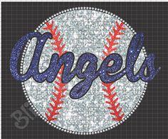 Angels Baseball Glitter Rhinestone Shirt Download #rhinestones #rhinestone #rhinestoneshirts #baseballshirts #rhinestonesupplier #rhinestonesupplies #wholesalerhinestones #glittershirts