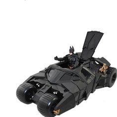 Batman and Batmobile Action Figures.    FREE SHIPPING!