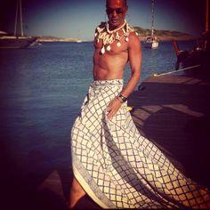 Kondylatos summer jewellery media articles Lakis Gavalas wears Pericles Kondylatos summer jewellery