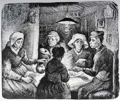 Vincent Van Gogh - Post Impressionism - Nuenen - Gravure - 1885