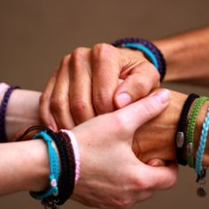 Sharing the journey with Share Bracelets! Trustyourjourney