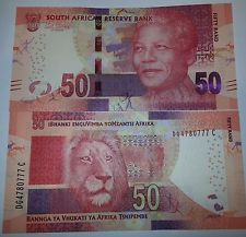 SOUTH AFRICA 50 RANDS ND(2014) P-135-NEW UNC