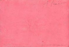 Arnulf Rainer, Ohne Titel, (Rückseite Rosa- und Vorderseite Schwarz übermalung) Rufpreis 18.000, € - UNVERKAUFT