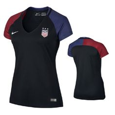 5c5e9afac Nike Womens USA USWNT Jersey (Away 16 17)   SoccerEvolution