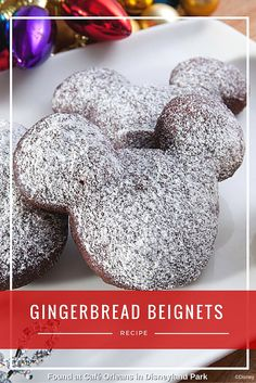 You'll be the star of your holiday party when you show up with these gingerbread beignets from Café Orleans! Click through the image for the recipe!