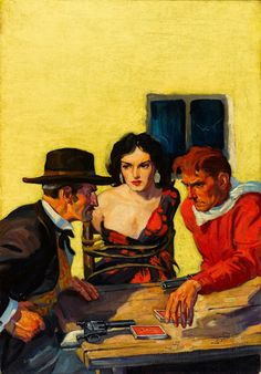 Dime Western Pulp Cover - 1933, in Glen Brunswick's WALTER BAUMHOFER Comic Art Gallery Room - 764212