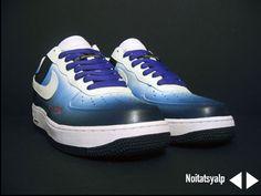 Custom Nike Air Force Ones   Custom Noitatsyalp Nike Air Force Ones