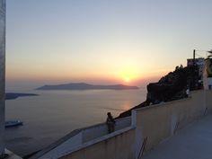 Sunrise from Thira