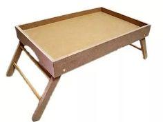 bandeja mesa de cama com pezinhos para café da manhã Tray, Coffee, Wood, Kitchen, Breakfast, Wood Flag, Bed And Breakfast, Home Organization, Carpentry