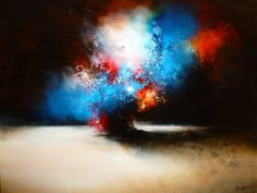 Large Canvas Abstract Painting by Artist by SimonkennysPaintings, £2650.00