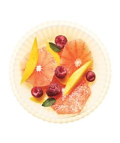 Grapefruit Salad With Vanilla: Vanilla-infused sugar gives the fruit a little extra sweetness.