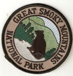 I lived in the Smokies at one point. Pin And Patches, Iron On Patches, Jacket Patches, National Park Patches, National Parks, Smoky Mountain National Park, Smokey Mountain, Guadalupe Mountains National Park, Guild Wars