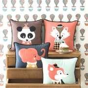 Kissen - Kinder - Panda - Ökologisch - Dänish Design