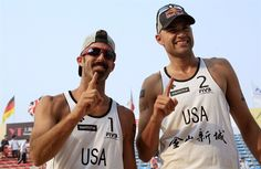33 Team USA Athletes to Watch In London - Phil Dalhausser & Todd Rodgers: After winning beach volleyball gold in Beijing, Dalhausser (right) and Rogers are gunning for a repeat performance. | NBC Olympics