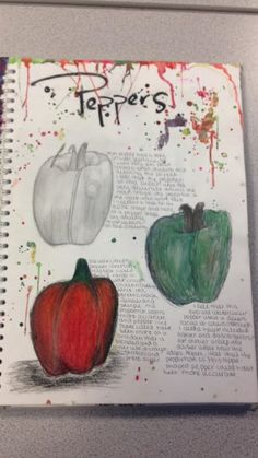 Peppers - Natural Forms