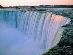 Niagara Falls.  I really want this to be the next place in North America I visit.