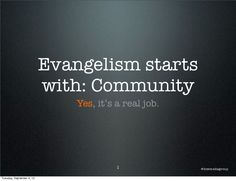 How to turn customers into evangelists.