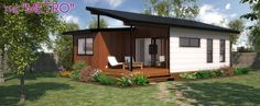 The Metro Ɩ Lifestyle Granny Flats Ɩ Brisbane Granny Pod, Granny Flat, Open Plan Living, Small Living, Large Sheds, Portable House, Flat Ideas, Living Styles, Large Bedroom