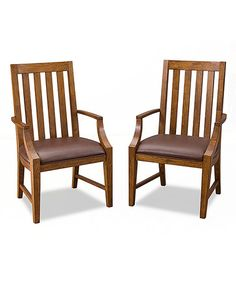 Another great find on #zulily! Oak Arts & Crafts Game Chair - Set of Two #zulilyfinds