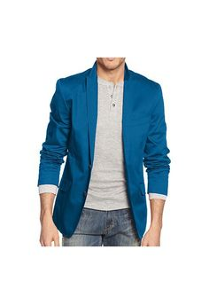 INC International Concepts Jadenn Slim-Fit Blazer In Deep Triton