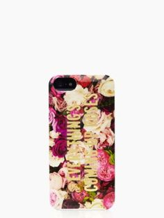 everything comes up roses iphone 5 case - kate spade new york