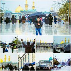 Rain in Holy Karbala Muharram, Timeline Photos, Mosque, Holi, Rain, History, Rain Fall, Mosques, Holi Celebration
