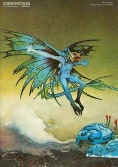 Ilustraciones de Roger Dean (un delirio clásico)