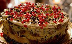 Bolo de Natal da Nigella: fácil de fazer, o bolo é preparado com panetone e gotinhas de chocolate.