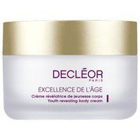 Decleor Aromessence Excellence De L'Age Youth Revealing Body Cream - 6.7 oz by Decleor. $79.20. Decleor is THE exclusive Aromatherapy skin care line from Europe.. Decleor is now recognized worldwide as the most comprehensive and effective range of Aromatherapy Face and Body Treatments.. Decleor combines scientific knowledge of plant energies with an in-depth understanding of the vital energies of the body.. Created in 1974 by a bold team consisting of a beautician, a...