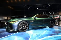 2018 Geneva Show: BMW Concept M8 Gran Coupe from the photo gallery: