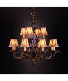 Fine Art Lamps 138540 A Midsummer Nights Dream 35 Inch Chandelier | Capitol Lighting 1-800lighting.com