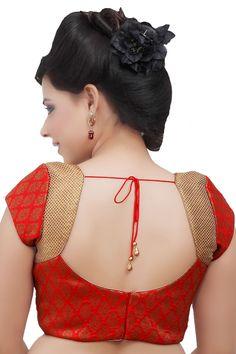 Designer in v neck ideal for wear - Blouse Back Neck Designs, New Saree Blouse Designs, Patch Work Blouse Designs, Cutwork Blouse Designs, Simple Blouse Designs, Stylish Blouse Design, Blouse Patterns, Churidar Neck Designs, Sarees