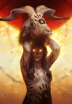 Diabolical shamaness