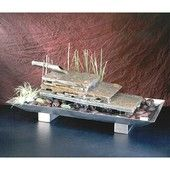 Flowing River Stainless Steel Tabletop Fountain