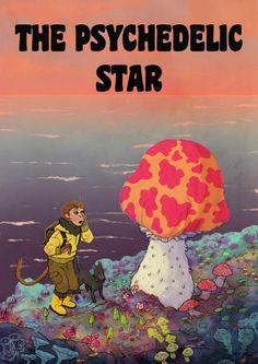 10-Psychedelic-Star-by-Kai-Schuttler.jpg (509×720)