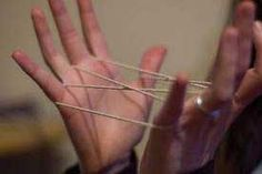 African games - how to play them. Game projects for kids. Cats cradle, hopscotch, jacks.