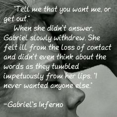 Gabriel's Inferno...me neither CM,#