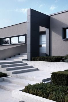 """classy-captain: """" Modern house in Hassel, Luxemburg by Sandro Curreli edited by classy-captain """""""