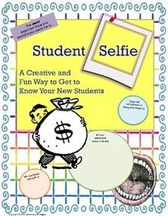 First Day : Back to School : Student Information : Ice Breaker Selfie ActivityIncludes Writing Response--UPDATED: Now with two EDITABLE Pages--Title and Year!Printable: No Prep-Print and Use!Grades 9, 10, 11, and 12 includedHave students do this fun and interesting Get-to-Know-You activity on day one, and youll hook them for the whole year!