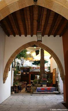 "Cyprus Lefkosia. ""Laiki Geitonia"", the traditional neighbourhood inside the walls of Lefkosia."