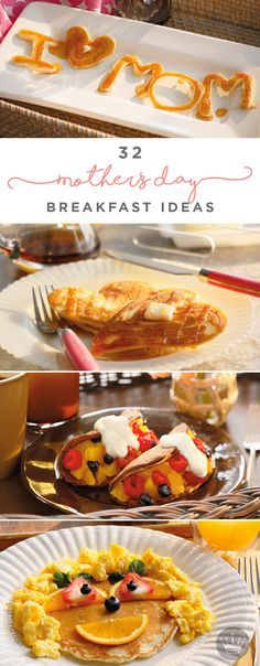 Surprise Mom with breakfast in bed this Mother's Day to thank her for all her hard work. Here are 32 breakfast ideas and recipes to make her day that much more special!