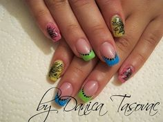 Milica:) by danicadanica - Nail Art Gallery nailartgallery.nailsmag.com by Nails Magazine www.nailsmag.com #nailart