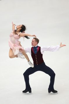 Madison Chock & Evan Bates   Ice Dancing   #usa #olympics #sochi2014