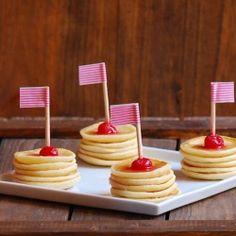#234119 - Mini Pancake Pops Recipe