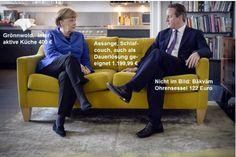 Wie Seibert Merkel unfreiwillig zum Ikea-Sofa-Modell machte › meedia.de