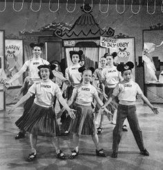 During the short time I stayed with my grandparents, when my mom worked, I looked forward every afternoon to the Mickey Mouse Club