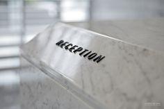 Reception Signage, 忠泰 WAVE, AI Group