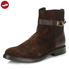 Tommy Hilfiger Damen Coffee Bean 9A Ankle Stiefel-UK 7 - Tommy hilfiger  schuhe (